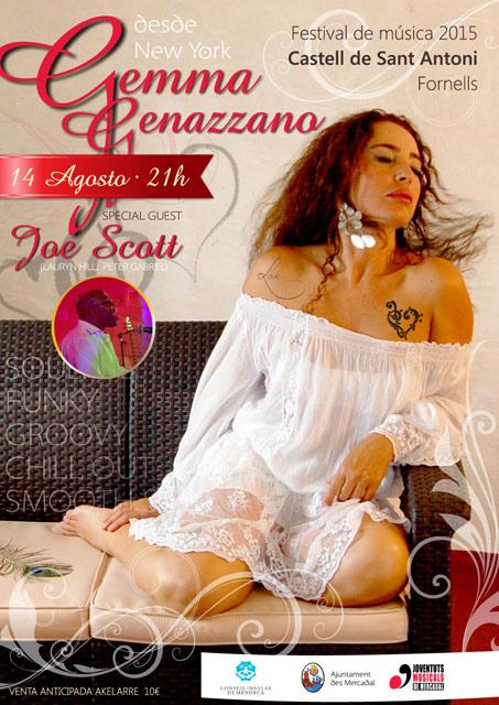 Gemma Genazzano, cantante