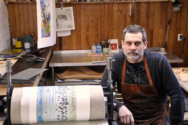 Pablo Quercia, artista chileno de Punta Arenas