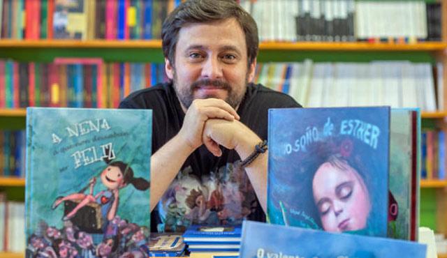 Miguel Ángel Alonso, escritor gallego