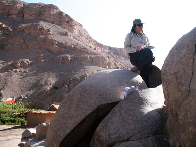 Doctora Gloria Cabello, arqueóloga chilena