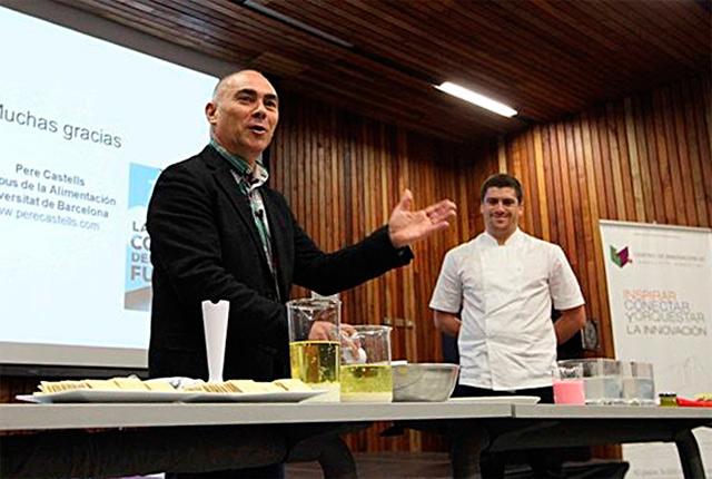 Pere Castells Esqué, científico-gastronómico.