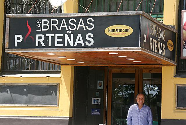 Las Brasas Porteñas: especialidad en carnes a las brasas en Valparaíso