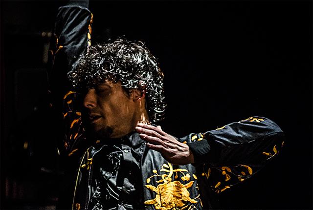 El bailaor de flamenco Jesús Carmona presenta su espectáculo Impetu's