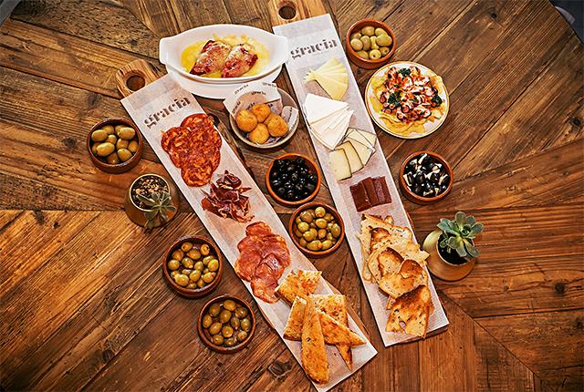 Gracia: el nuevo restaurante que trae lo mejor de la cocina española