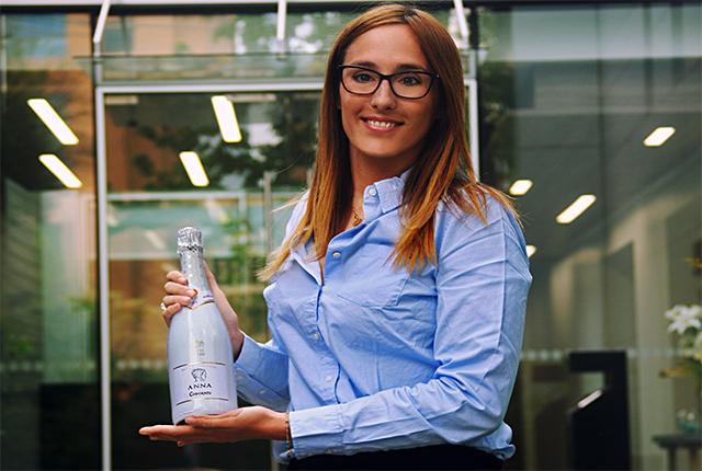 Ana Raventós, Embajadora de la marca Codorniu en Chile