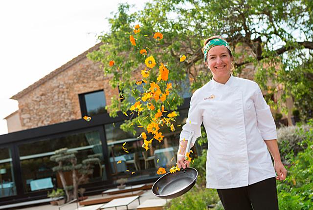 Iolanda Bustos, chef del restaurante La Caléndula