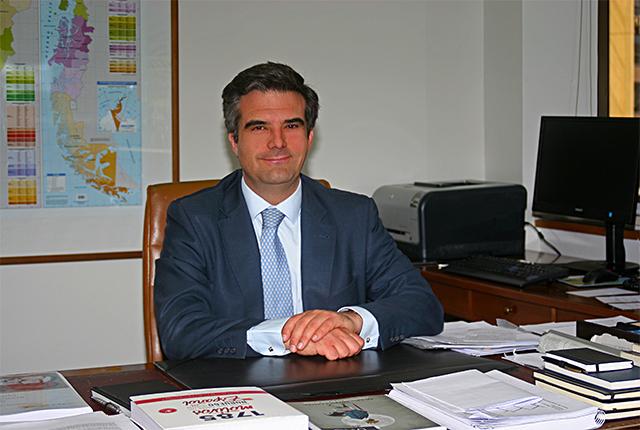 Rafael Coloma, consejero económico y comercial de la Embajada española en Chile