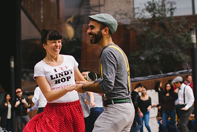 Bailando Swing en Chile