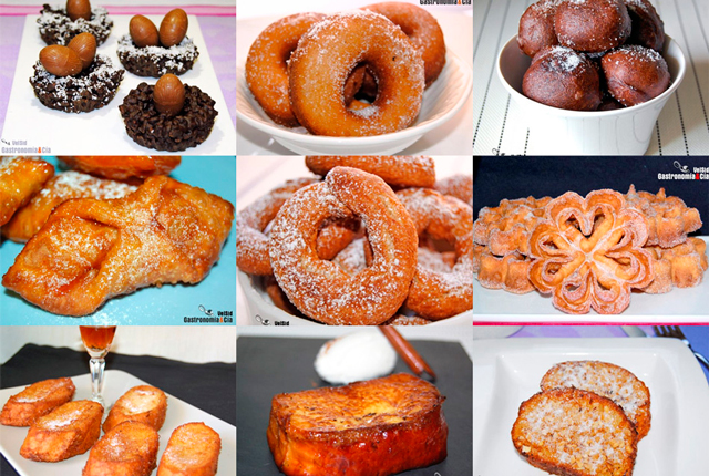 Los dulces más típicos de la Semana Santa en España