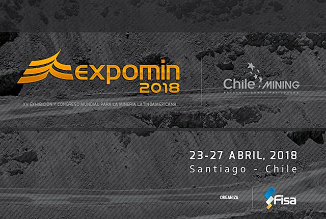 Expomin 2018 en Santiago de Chile