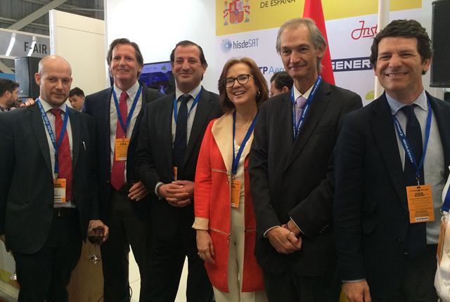 La Fundación Chile-España visitó la Feria FIDAE