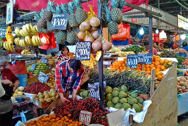 Descubriendo el mercado popular de La Vega en Santiago