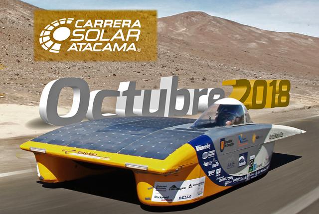 La Ruta Solar nos presenta La Carrera Solar Atacama 2018