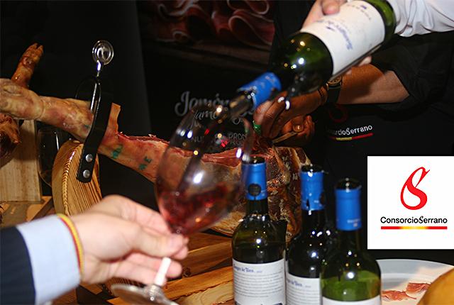 «Ham & Wine», evento del Consorcio del Jamón Serrano Español